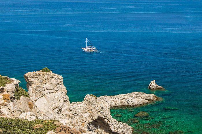 Прогулка на яхте по бухтам острова Родос