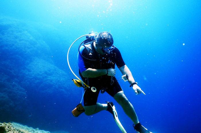 Дайвинг на острове Родос