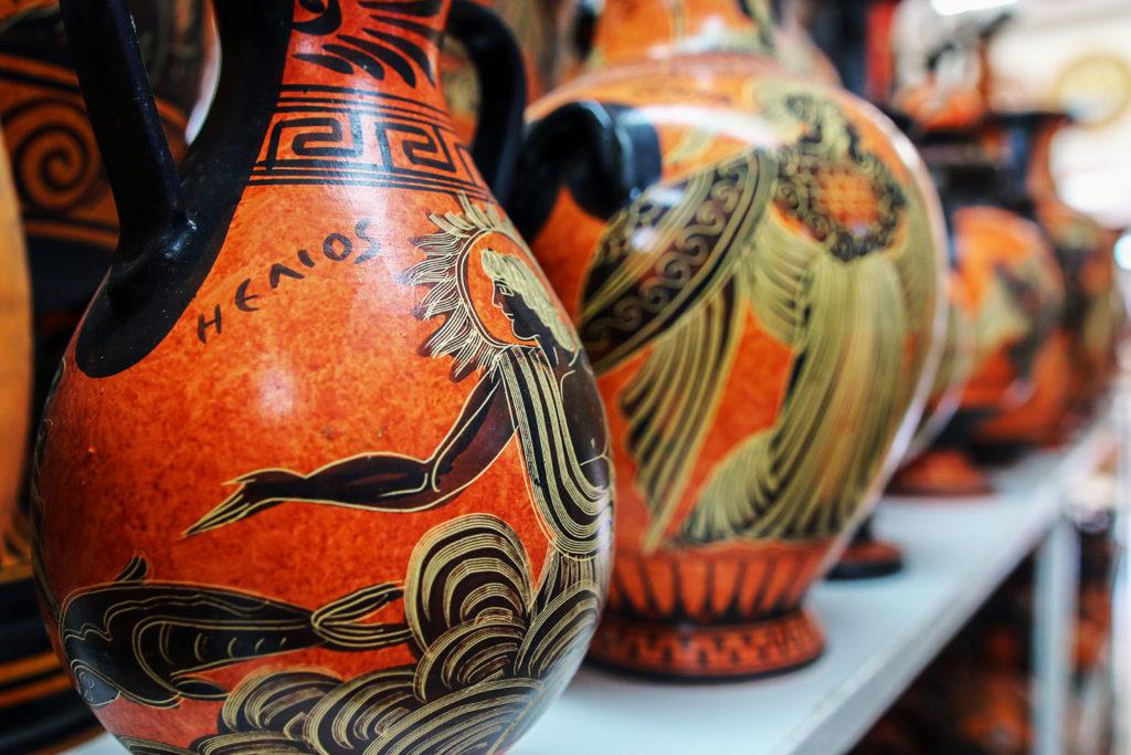 Керамика, сувениры с острова Родос
