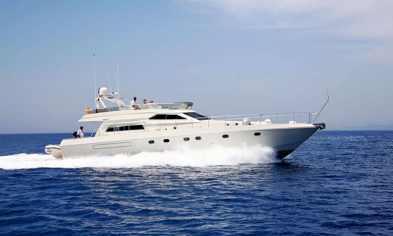 Моторная яхта Родос