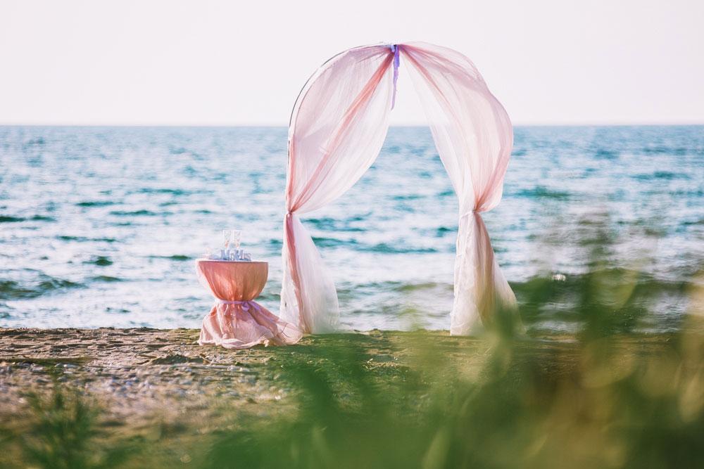 Свадьба на пляже Родос
