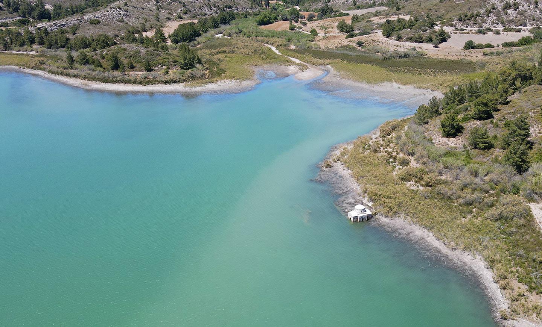 Озеро на острове Родос