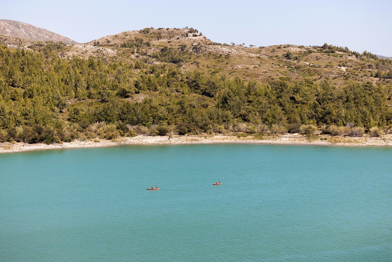 Озеро в деревне Аполаккия, о. Родос